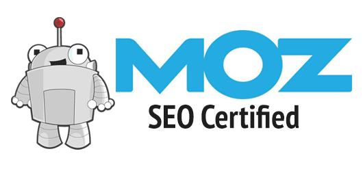 MOZ SEO Certified