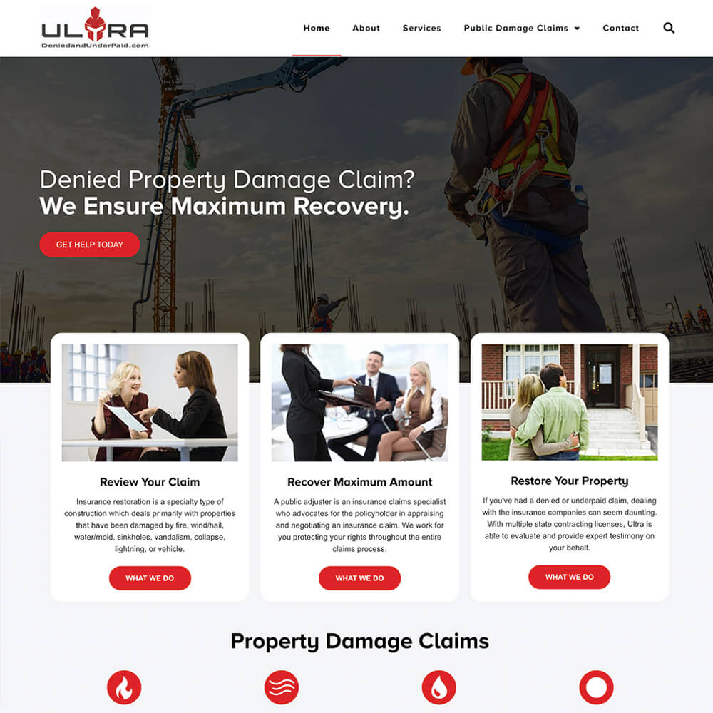Ultra Website
