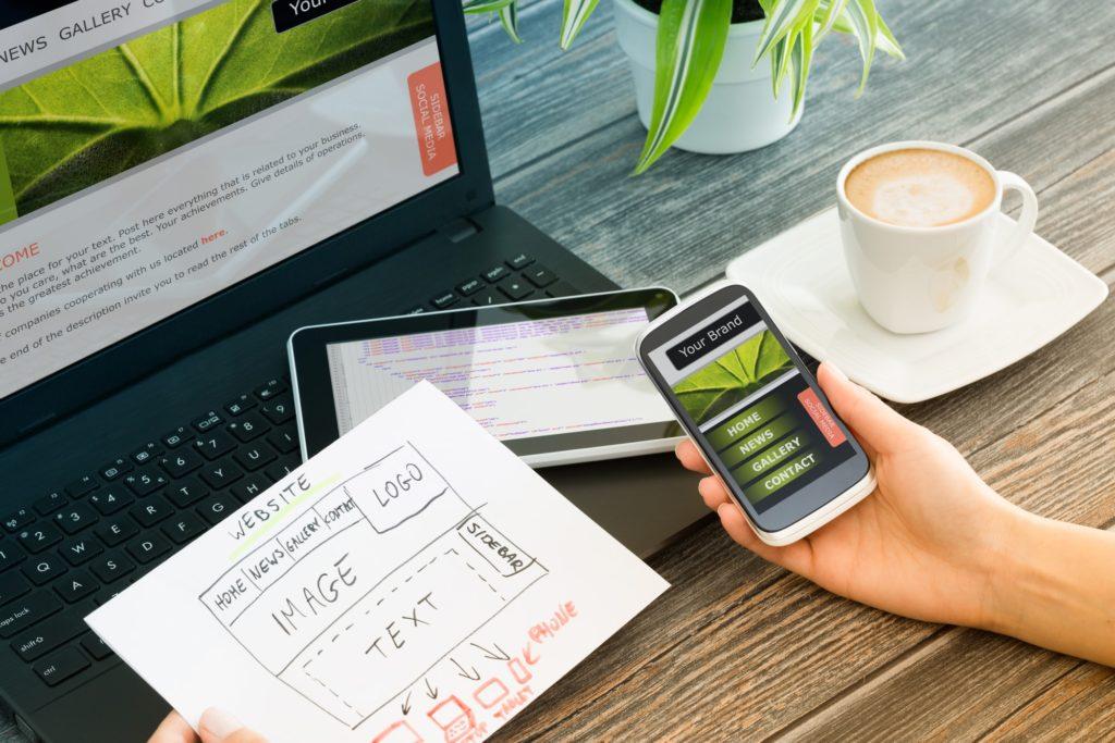 investing in website design